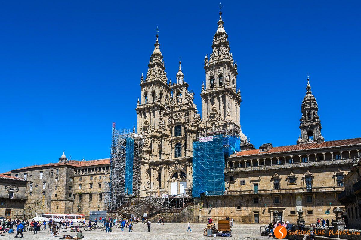 Plaza Obradoiro, Santiago de Compostela, España | Las plazas más encantadoras de Europa