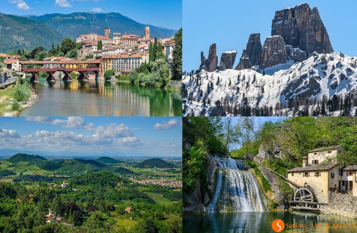 20 Lugares que ver en Véneto, Italia