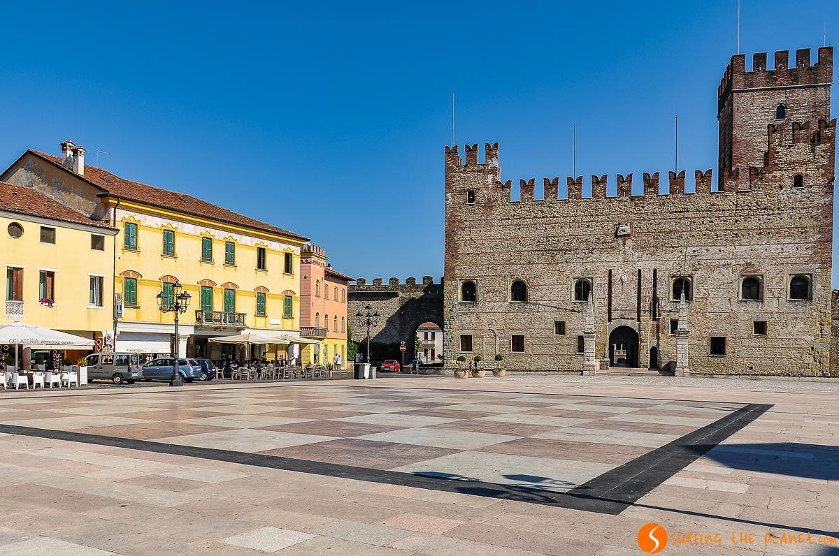 Tablero de ajedrez, Marostica, Véneto, Italia | Qué visitar en Véneto