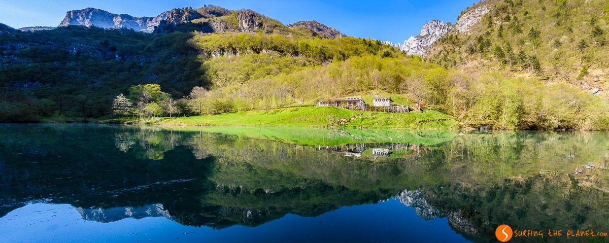 Valle del Mis, Dolomitas, Véneto, Italia