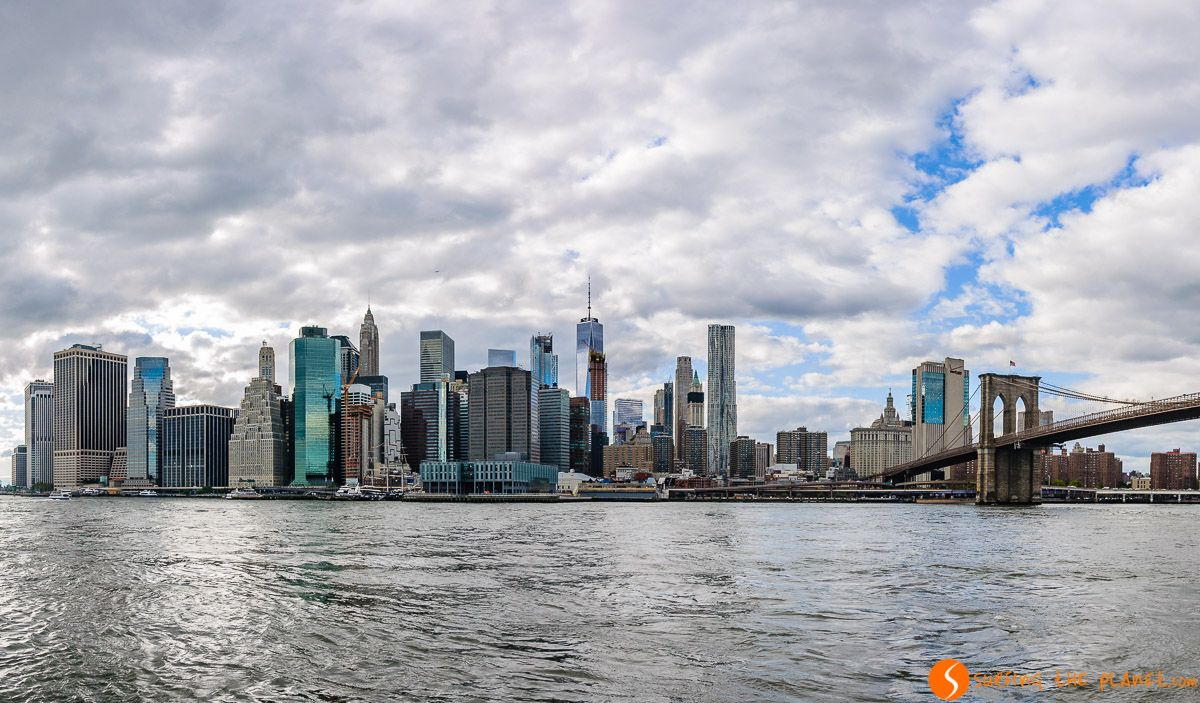 Vistas desde Brooklyn Bridge Park, Nueva York