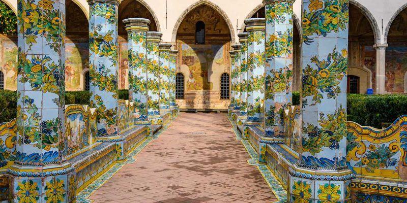 Convento de Santa Clara, Nápoles, Italia