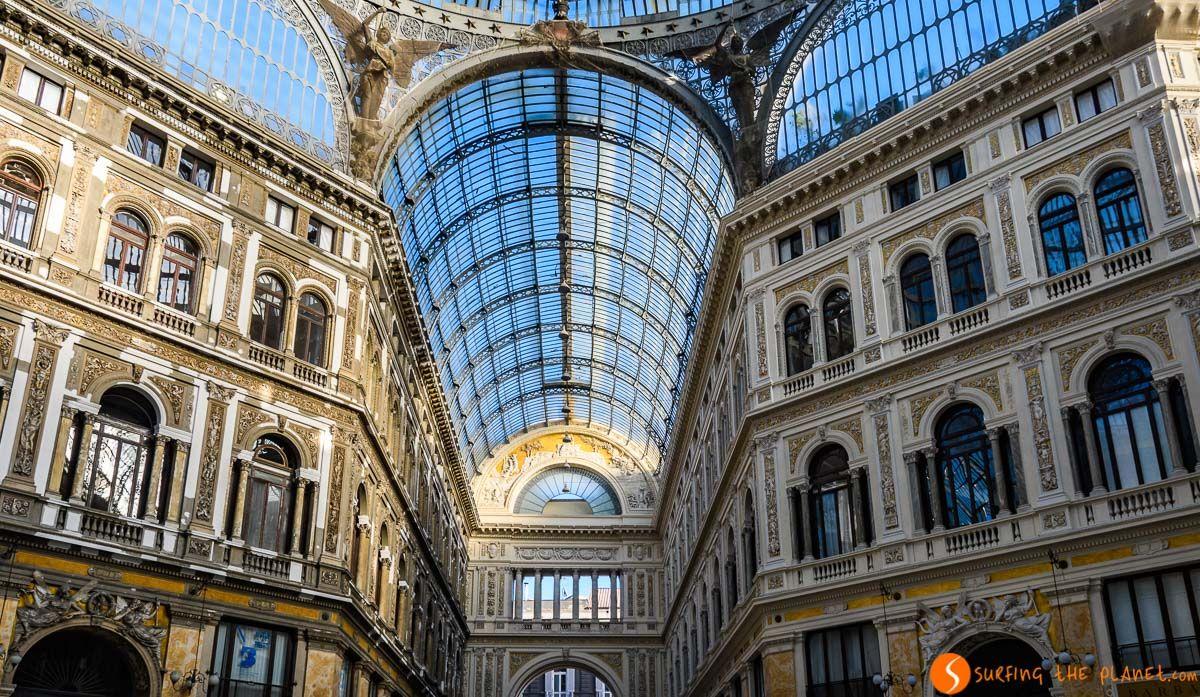 Galería Umberto I, Nápoles, Italia | Qué ver en Nápoles