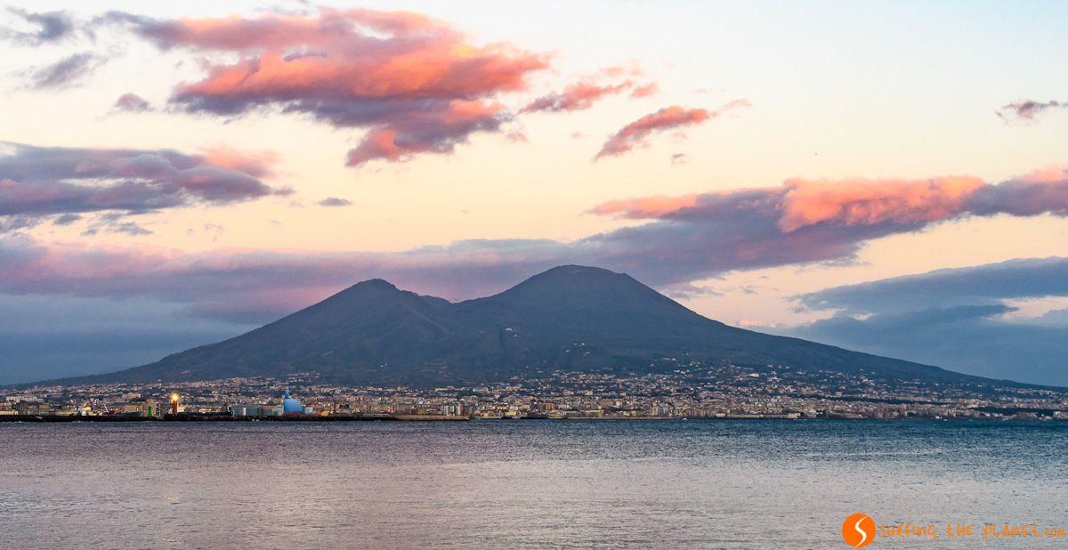 Monte Vesubio, Nápoles, Italia