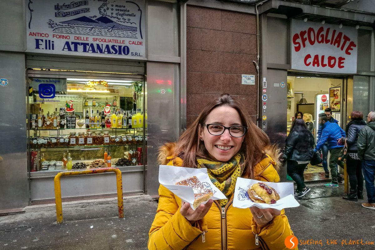 Sfogliatelle Attanasio, Nápoles, Italia | Qué y donde comer barato en Nápoles