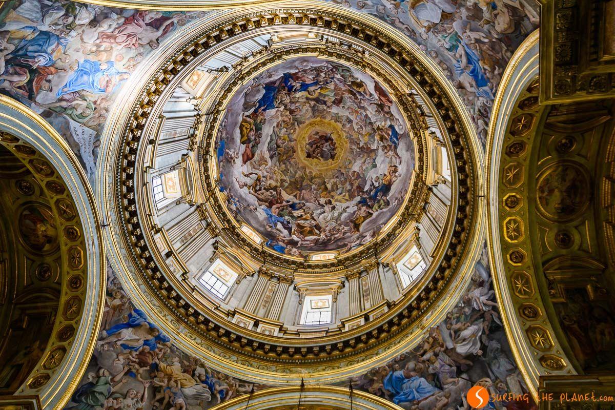 Capilla con frescos, Catedral San Gennaro, Nápoles, Italia