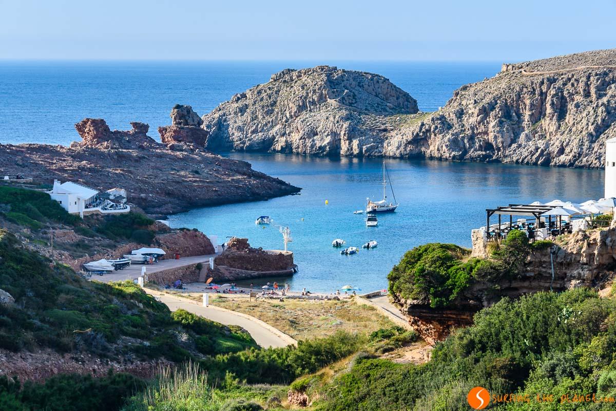 Cala Morella, Menorca, España | Calas imprescindibles en Menorca