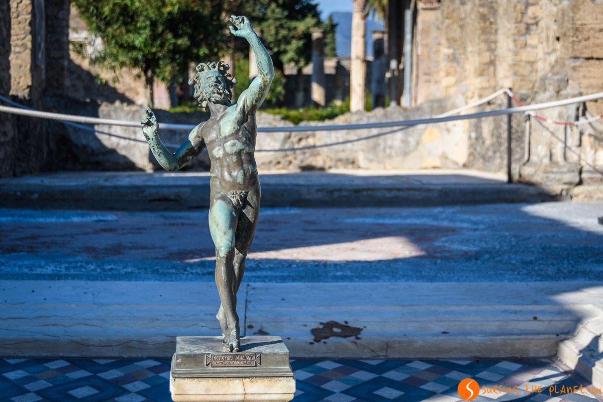 Casa del Fauno, Pompeya, Italia | Qué ver y hacer en Pompeya