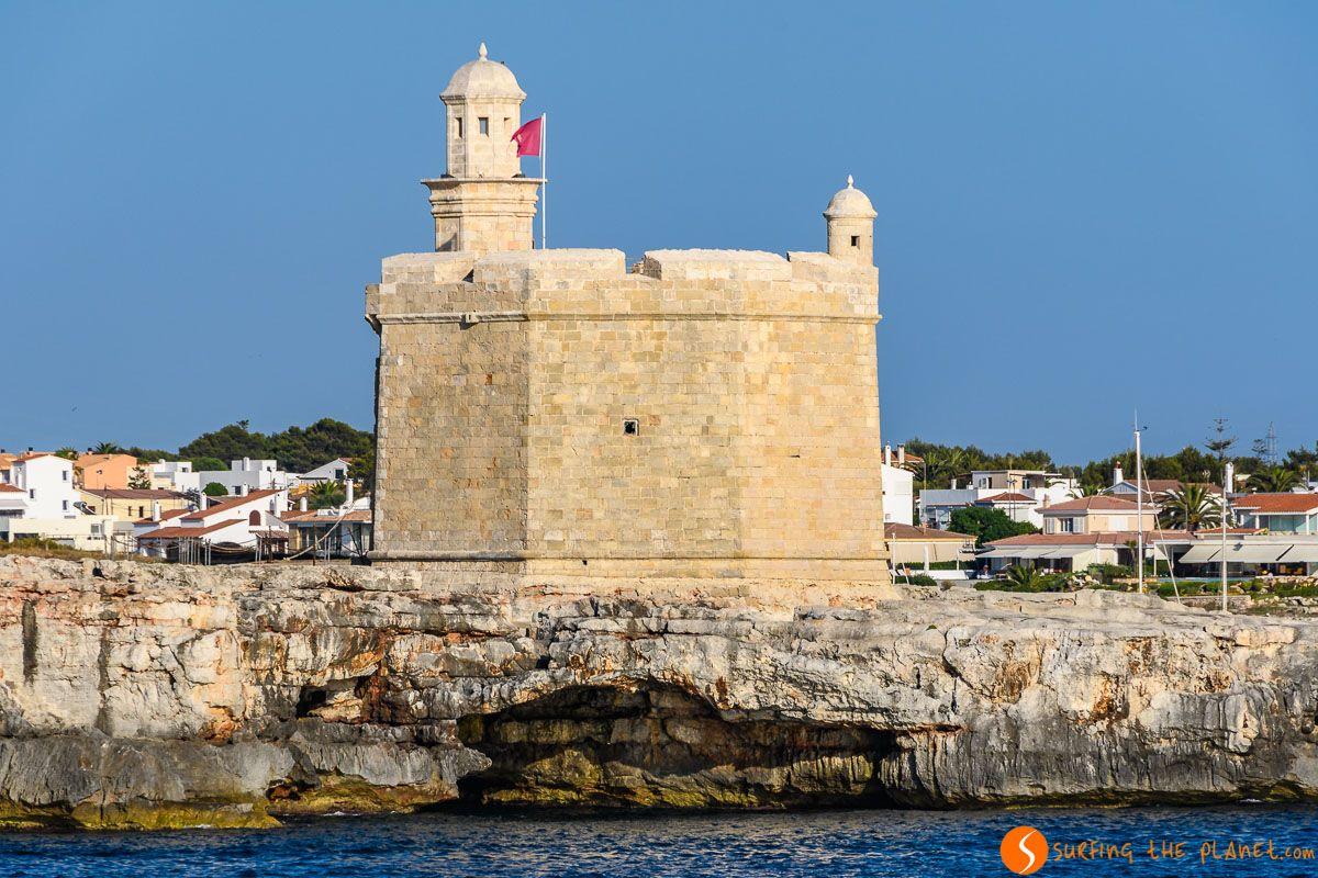 Castell de San Nicolau, Ciutadella, Menorca, España