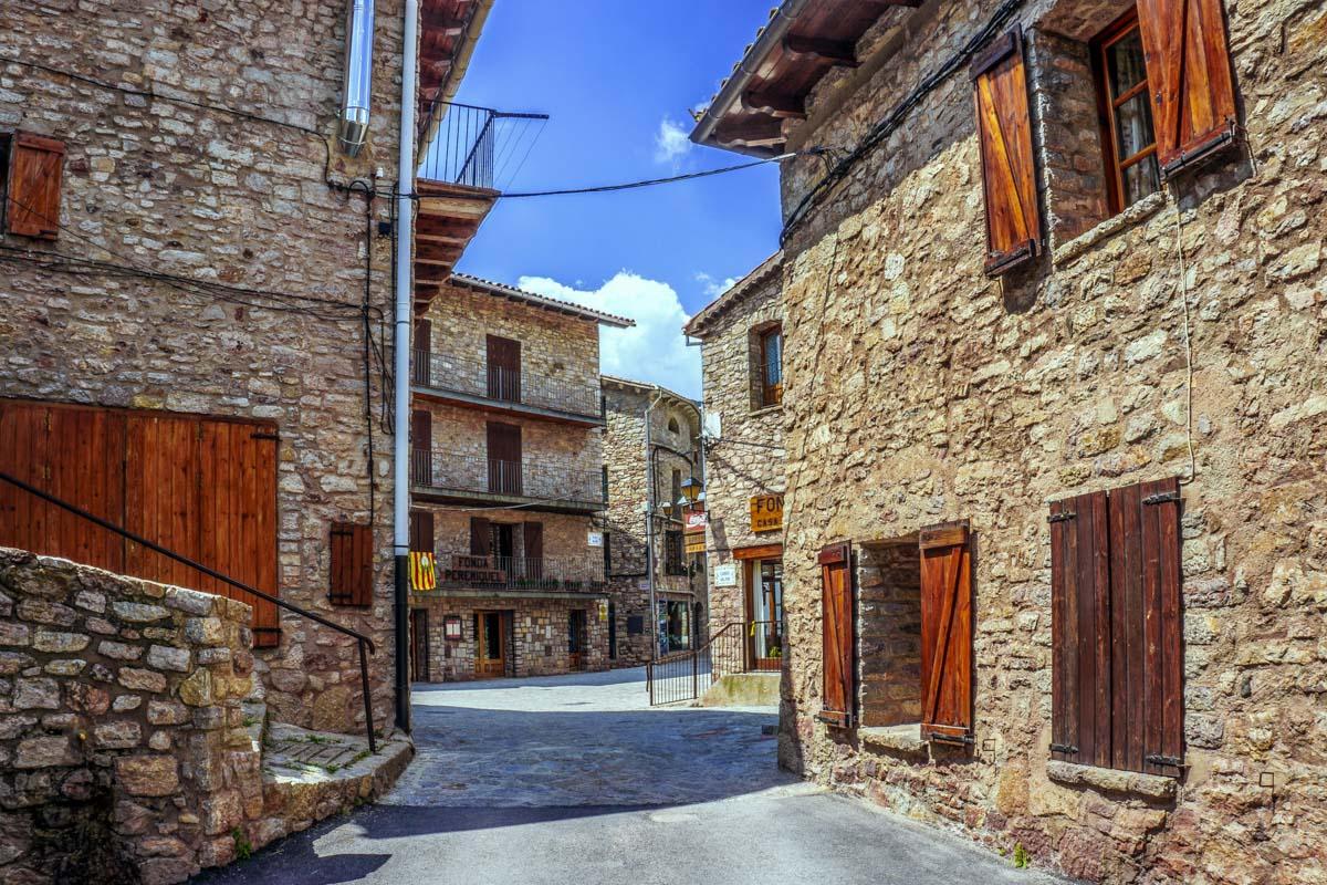 Castellar de N'Hug, El Berguedà, Cataluña, España