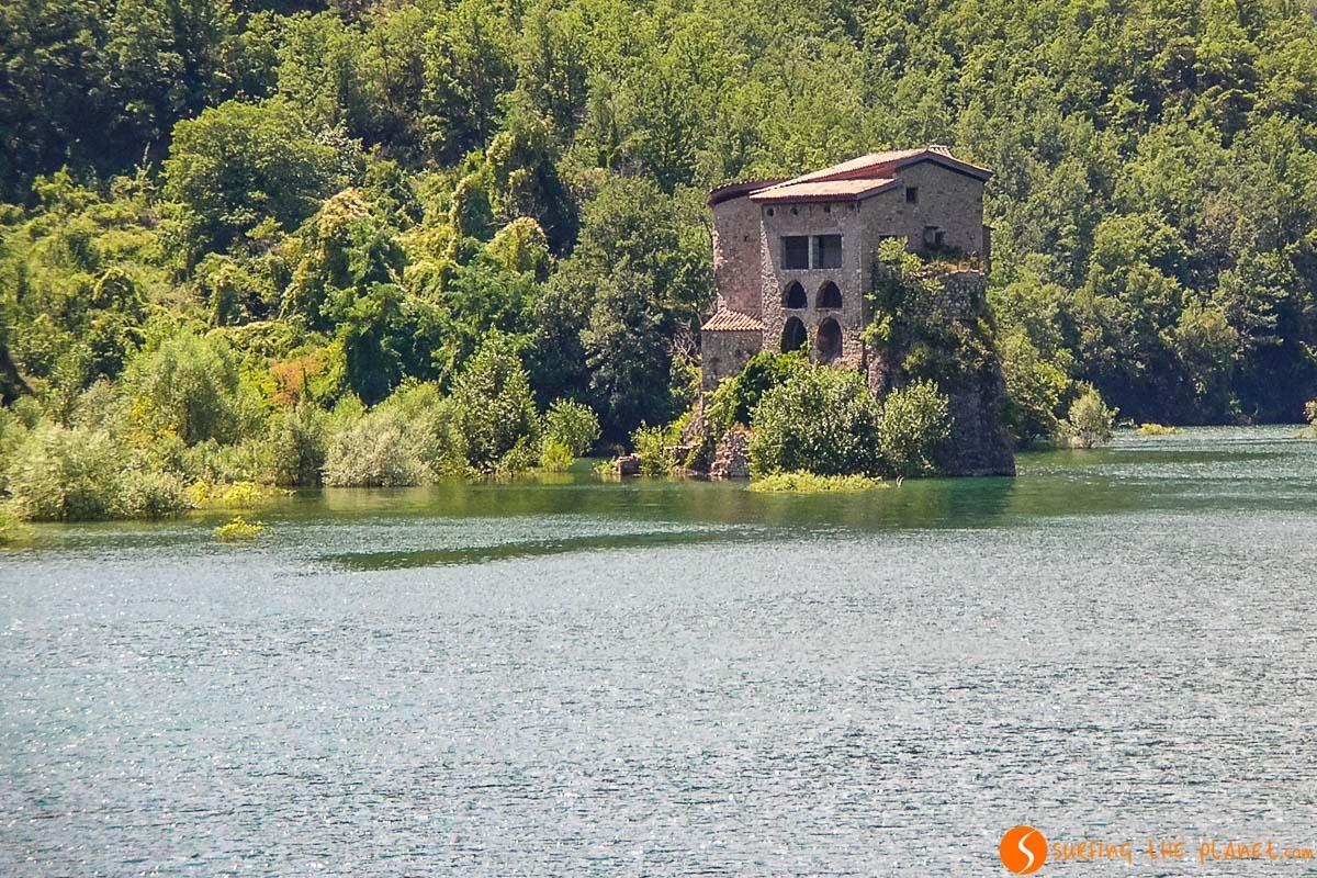 Embalse de la Baells, El Berguedà, Cataluña, España