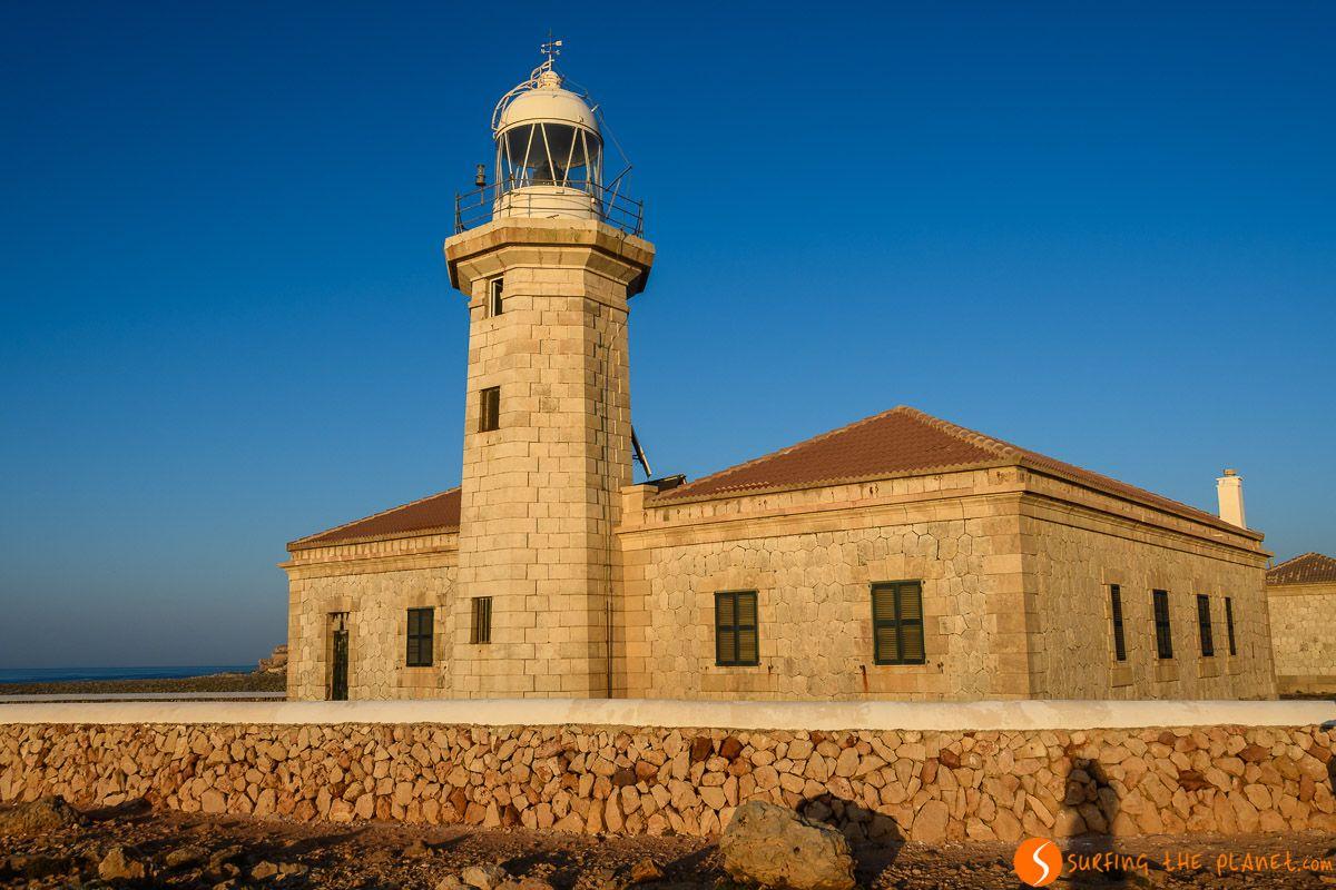 Faro de Punta Nati, Menorca, España