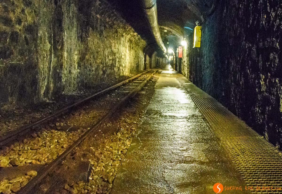 Interior de Mines de Cercs, Cataluña, España | Qué hacer en el Berguedà con niños