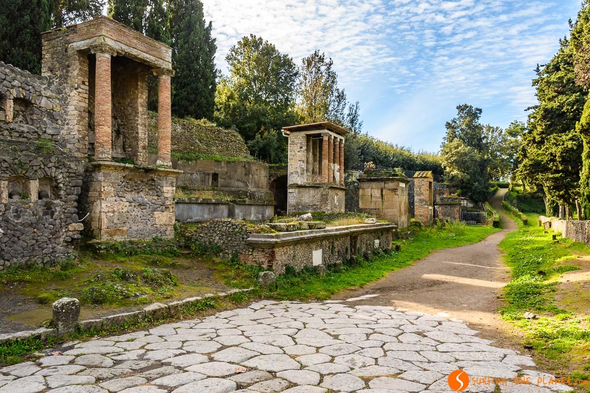 Nécropolis, Pompeya, Italia