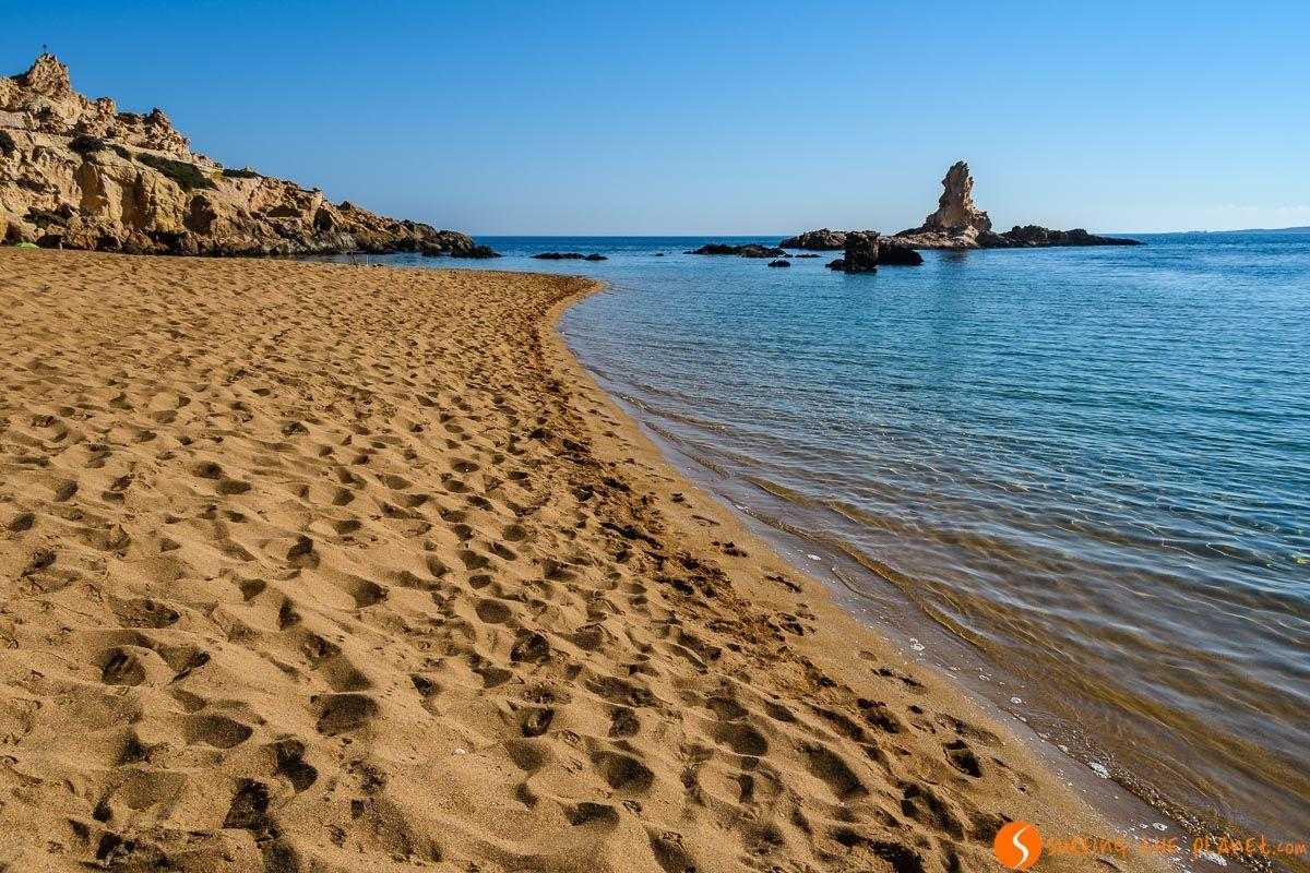 Soledad, Cala Pregonda, Menorca, España