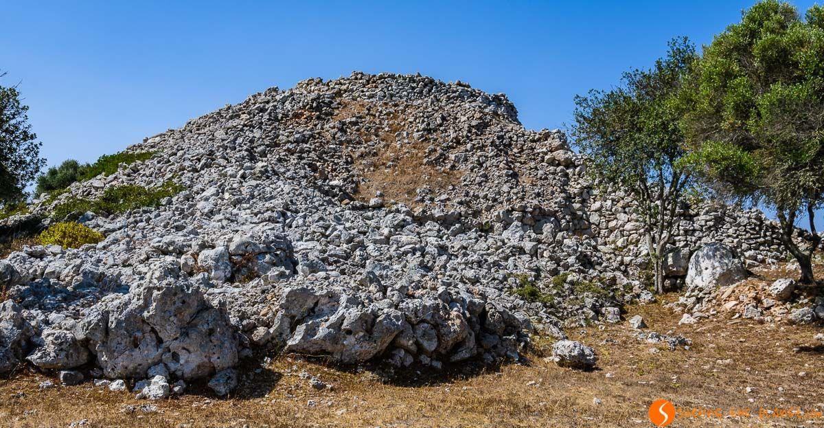Talayot, Torre d'en Galmés, Menorca, España