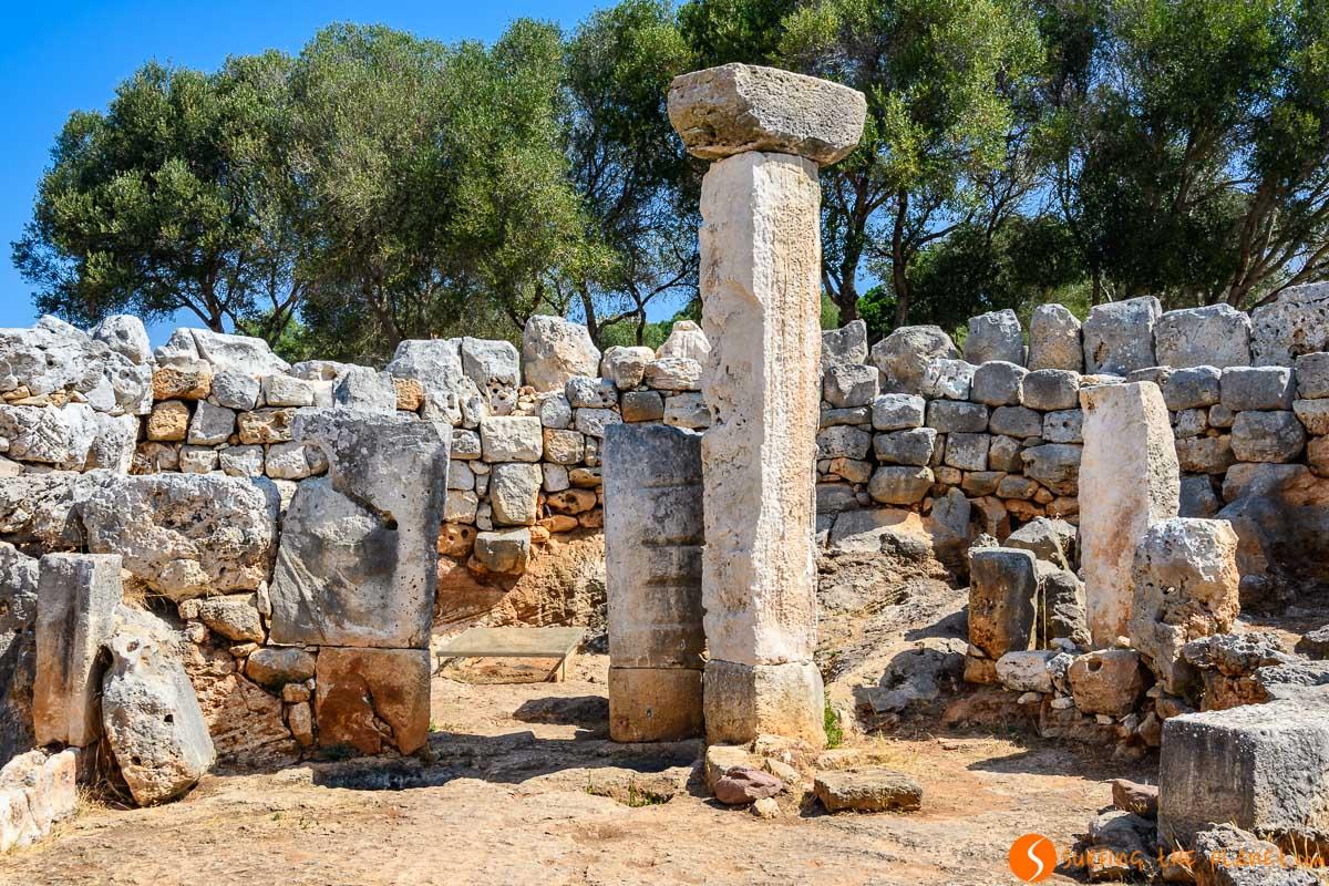 Taula en Torre d'en Galmés, Menorca, España