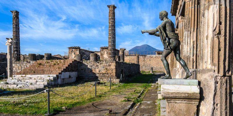 Templo de Apolo, Pompeya cerca de Nápoles, Italia