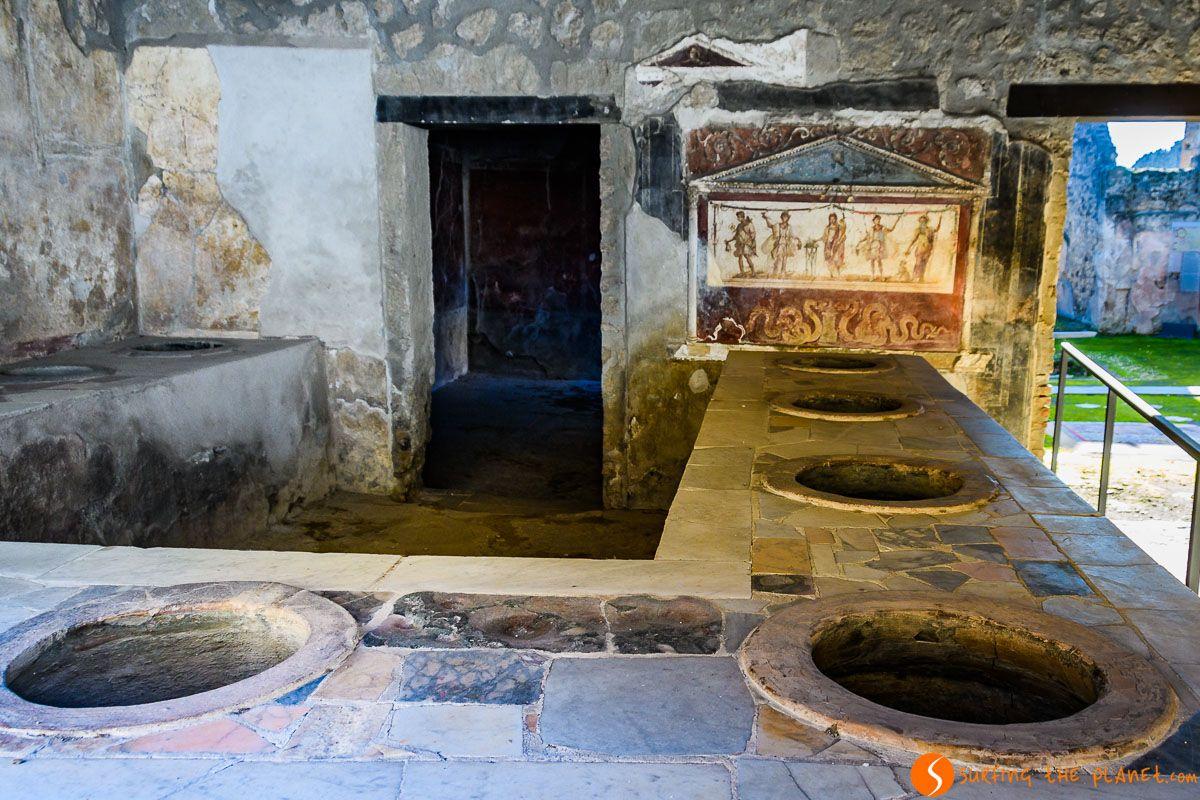 Termopolio del Larario, Pompeya, Italia | Qué hacer en Pompeya