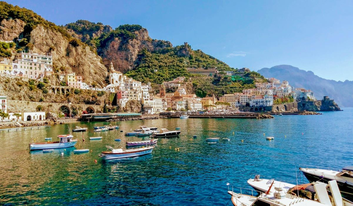 Port in the Amalfi Coast, Excursion from Naples, Italy | Excursions from Naples