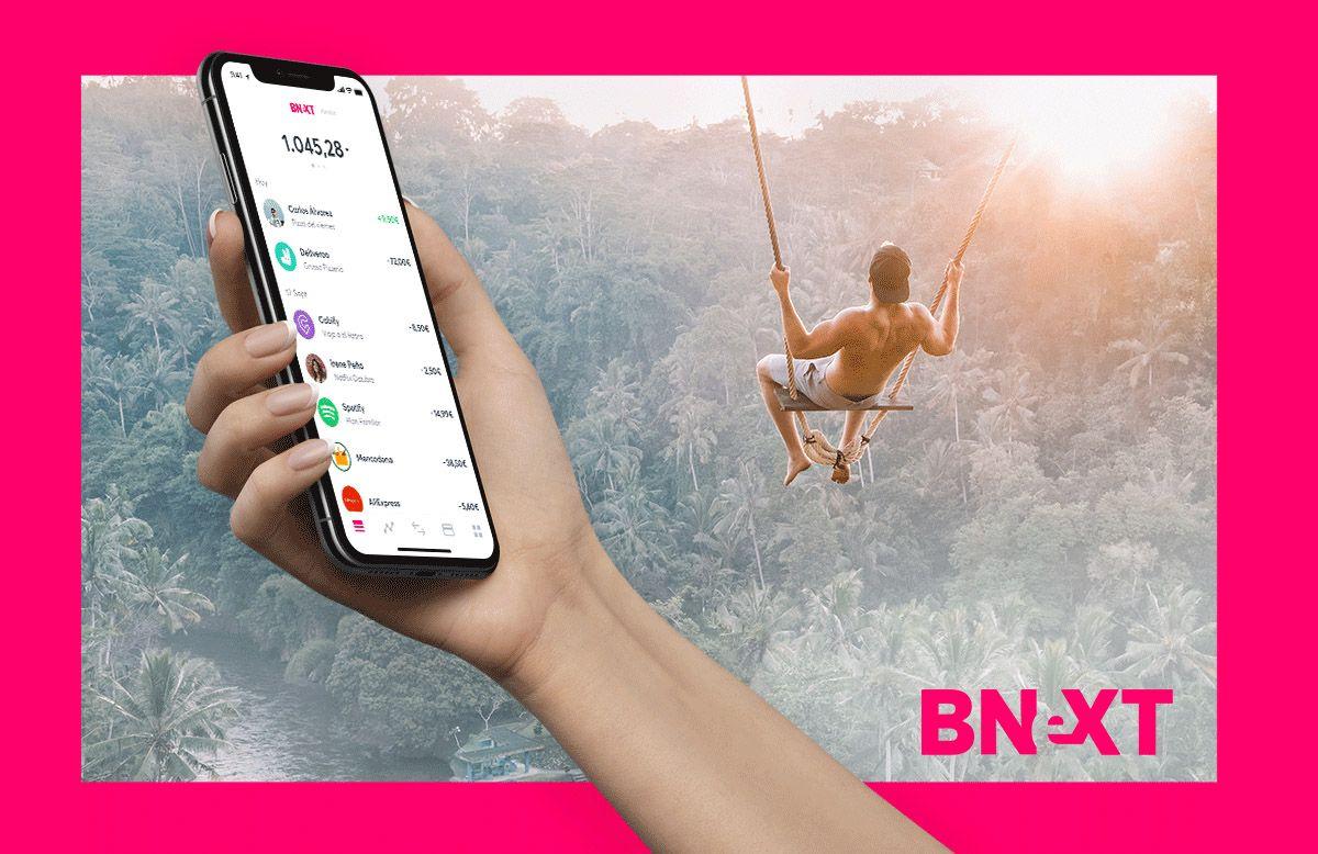 Sacar dinero con la tarjeta Bnext en tu viaje al extranjero sin comisiones