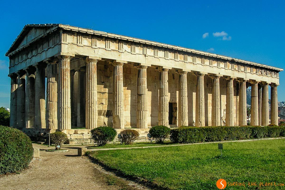 Ágora Antigua, Atenas, Grecia, Atenas, Grecia