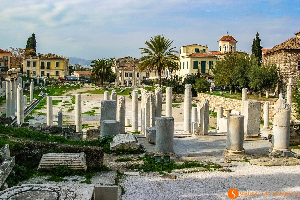 Ágora Romana, Atenas, Grecia