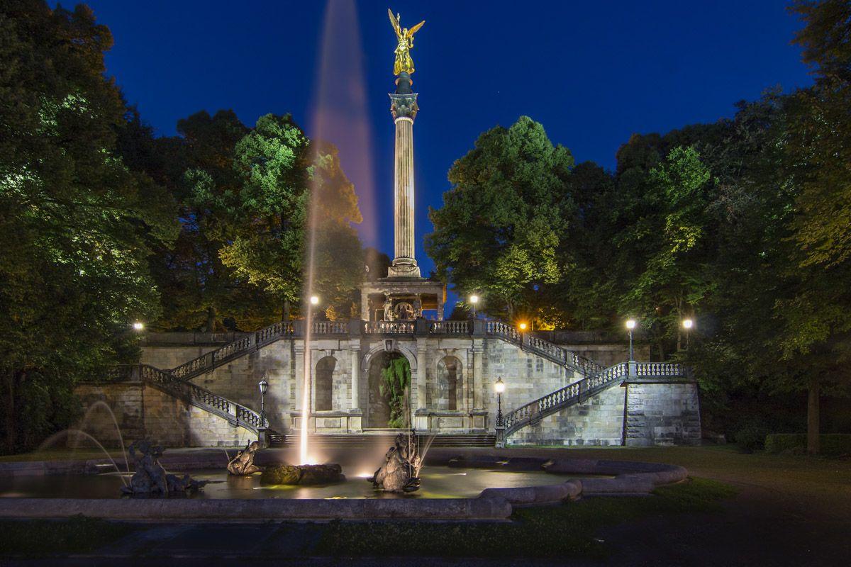 Angel de la Paz, Múnich, Alemania