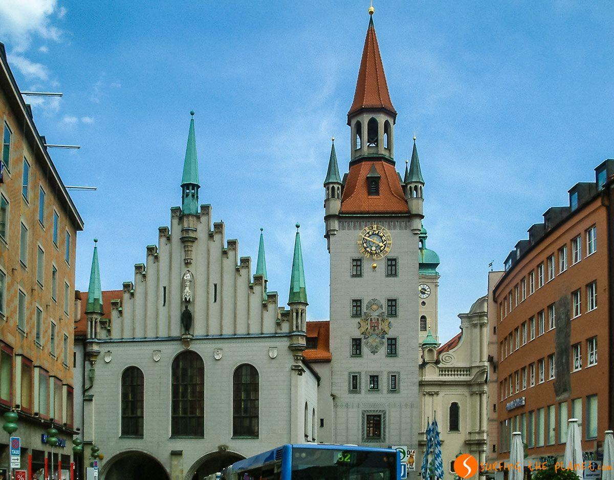 Antiguo Ayuntamiento, Múnich, Alemania