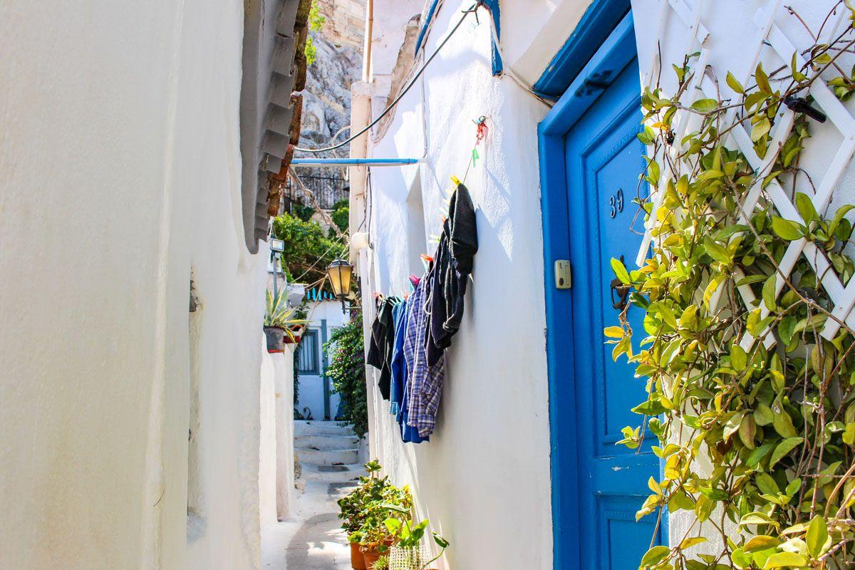 Barrio de Anafiotika, Atenas, Grecia   Qué visitar en Atenas