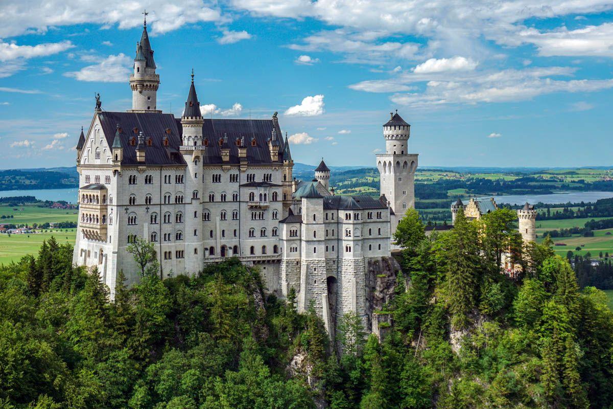 Castillo Neuschwanstein cerca de Múnich, Alemania | Qué ver en Múnich y sus alrededores