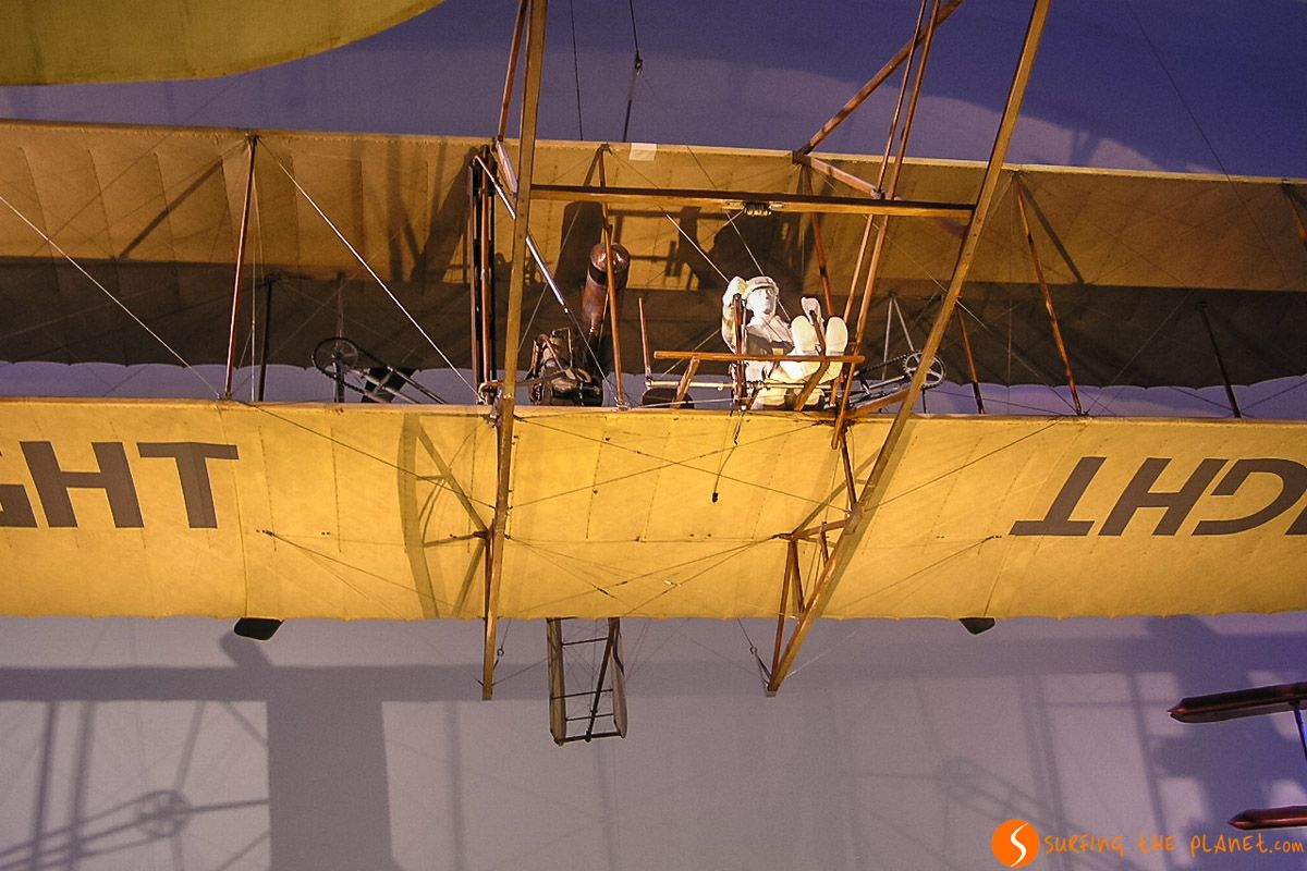 Avión Wright, Deutsches Museum, Múnich, Alemania | Qué ver en Múnich en 3 días