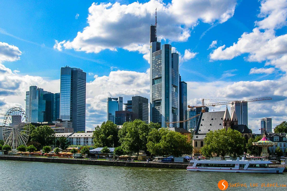 Distrito Financiero, Frankfurt, Alemania | Qué visitar en Frankfurt