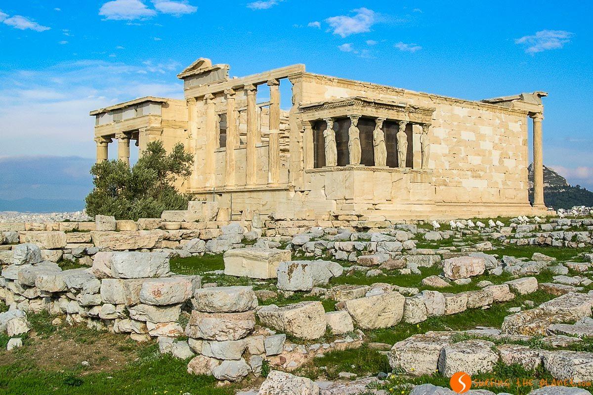 Erecteión, La Acrópolis, Atenas, Grecia   Qué ver en Atenas en 2 días