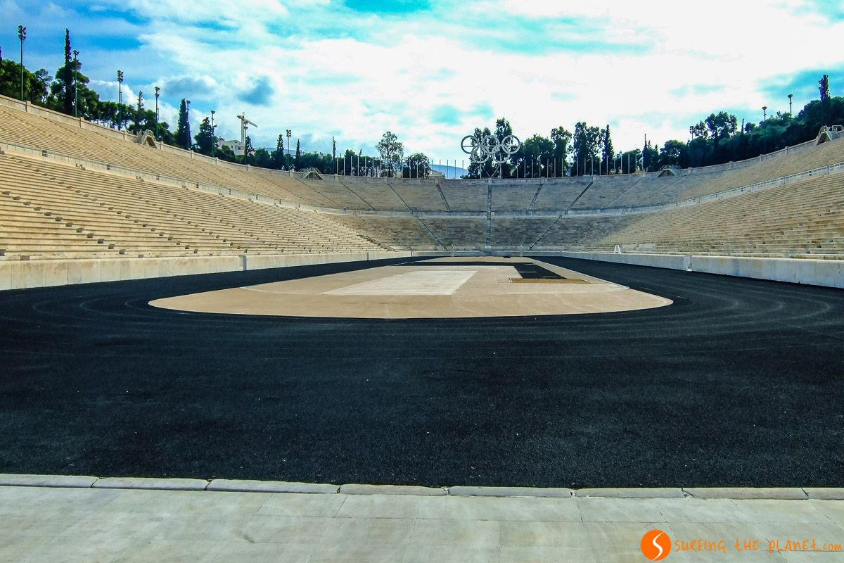Estadio de Panathinaikó, Atenas, Grecia   Qué ver en Atenas en 3 días