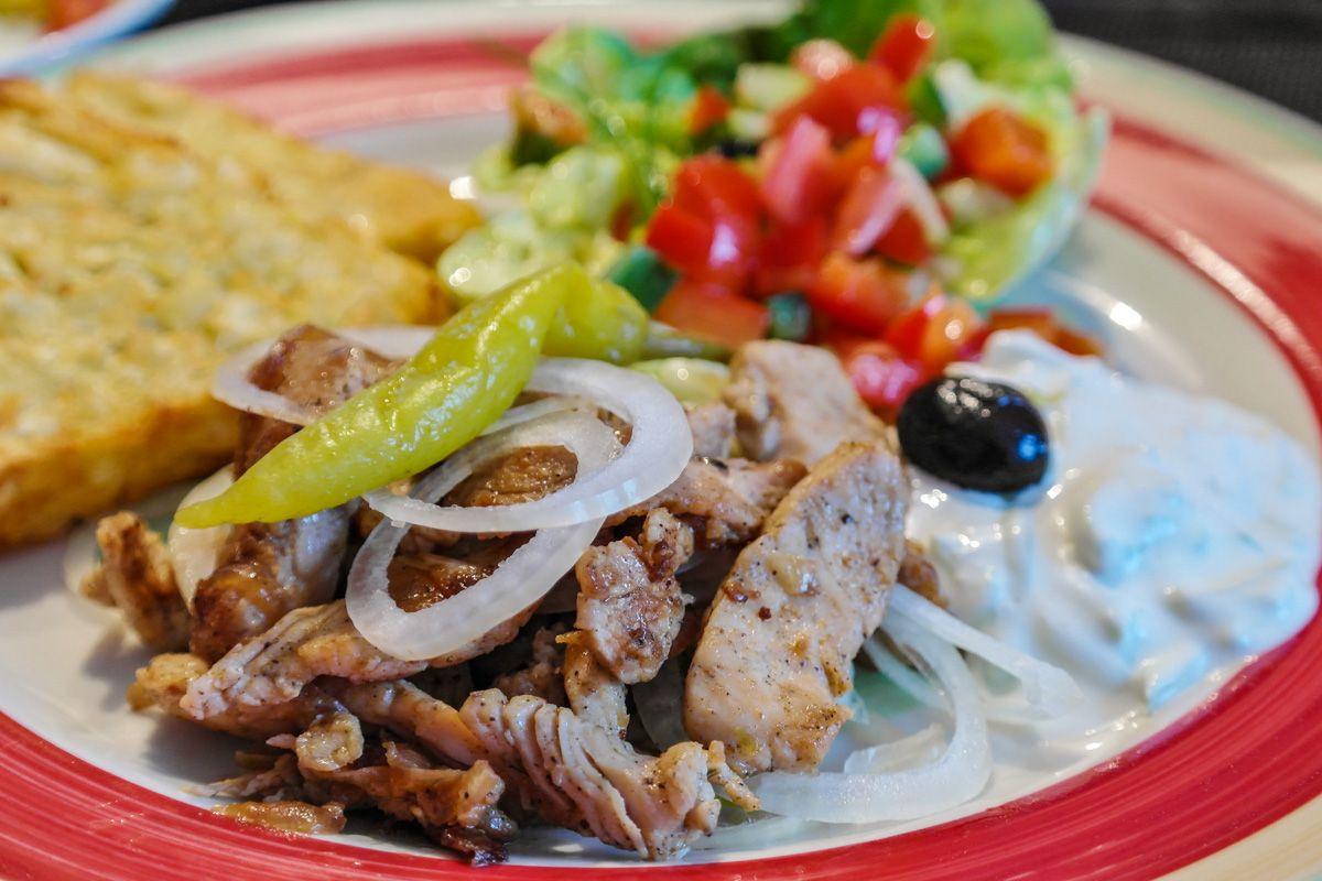 Gyros, Gastronomía griega, Atenas, Grecia   Qué comer en Atenas