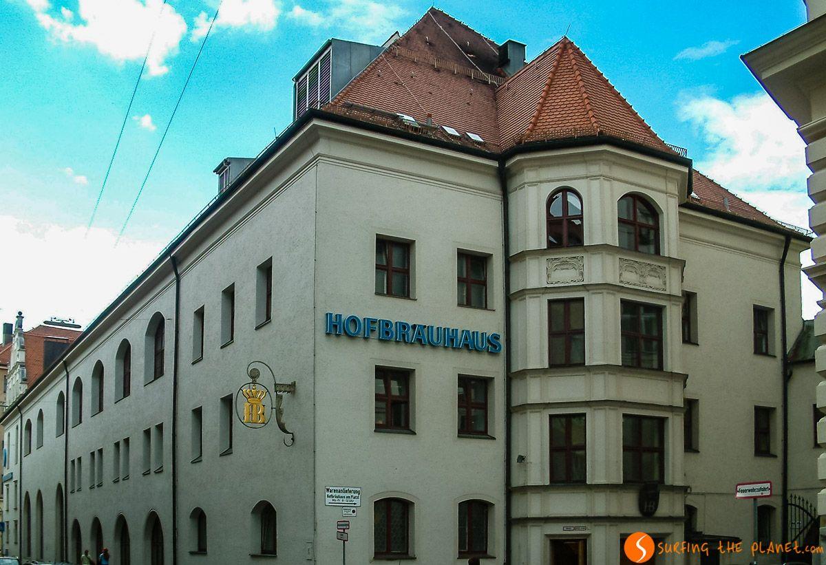 Hofbrauhaus, Múnich, Alemania
