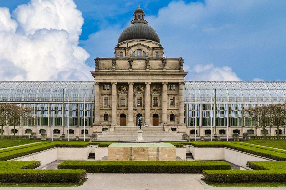 Hofgarten, Múnich, Alemania
