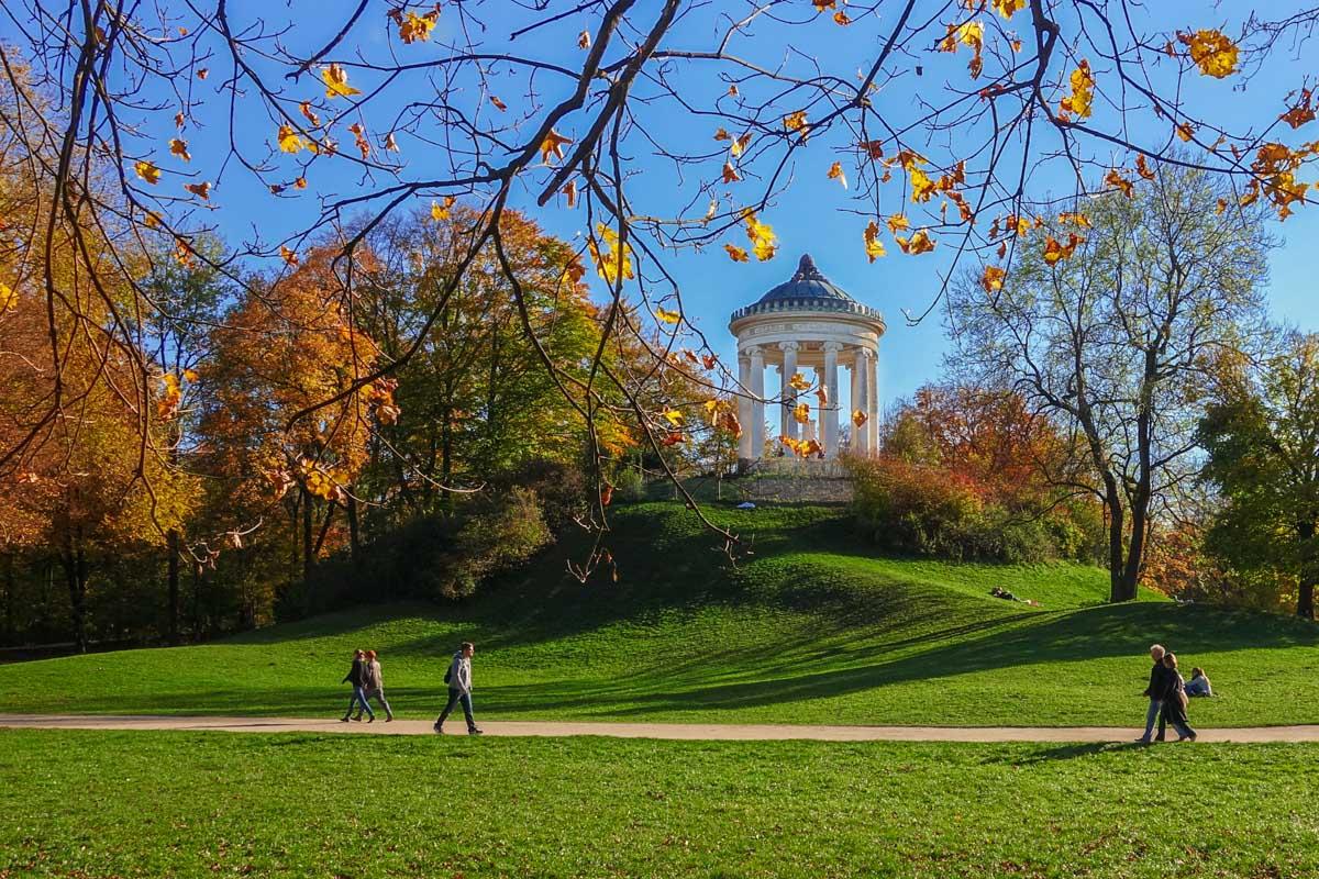 Jardín Inglés, Múnich, Alemania