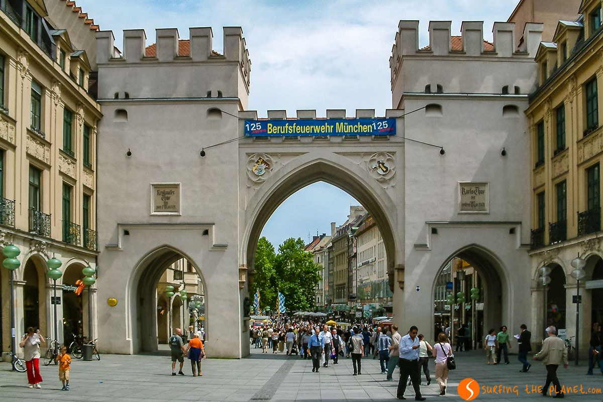 Karlsplatz, Múnich, Alemania