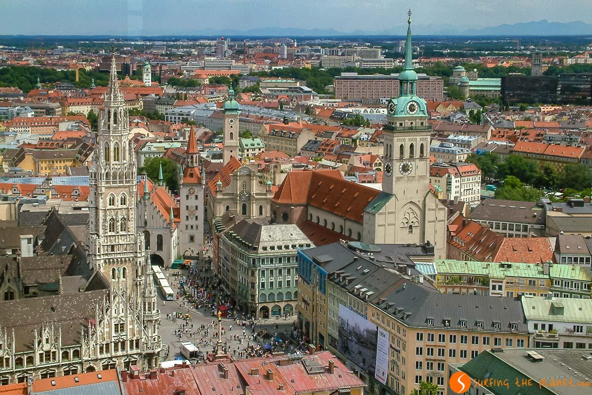 Vistas de Marienplatz, Múnich, Alemania | Los mejores tours gratuitos de Europa