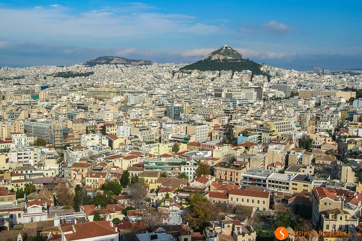 Monte Licabeto, Atenas, Grecia