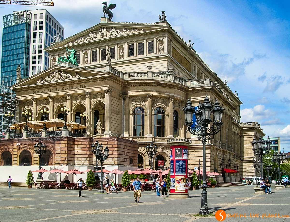Ópera, Frankfurt, Alemania |Qué hacer en Frankfurt