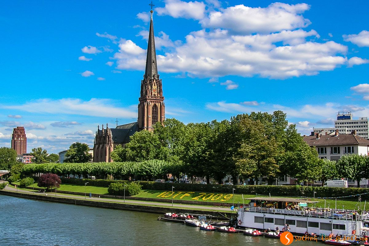 Orilla del río Meno, Frankfurt, Alemania |Qué ver y hacer en Frankfurt en un día