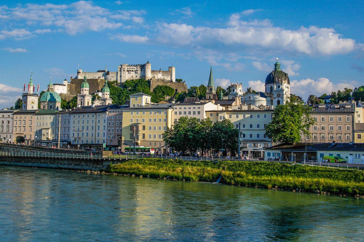 Panorama del centro histórico, Salzburgo, Austria | Qué ver y hacer en Múnich y sus alrededores