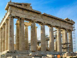 Partenón, La Acrópolis, Atenas, Grecia