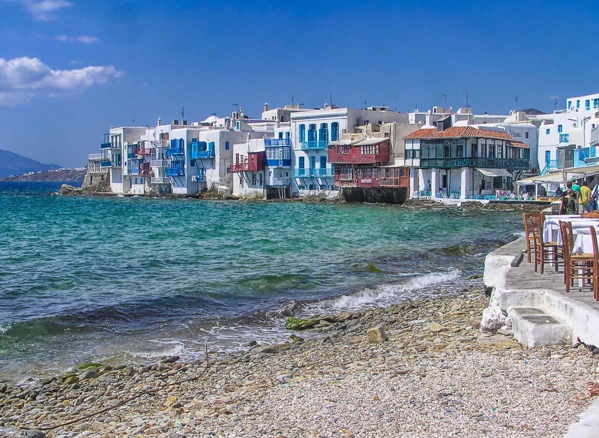 Playa de Isla Mykonos, Grecia   Qué ver y hacer en Atenas en 2 ó 3 días