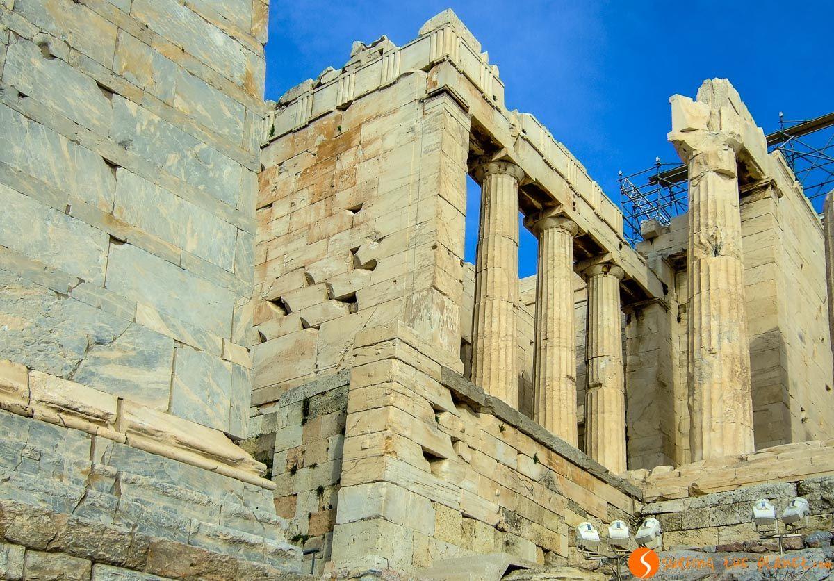 Propileos, La Acrópolis, Atenas, Grecia