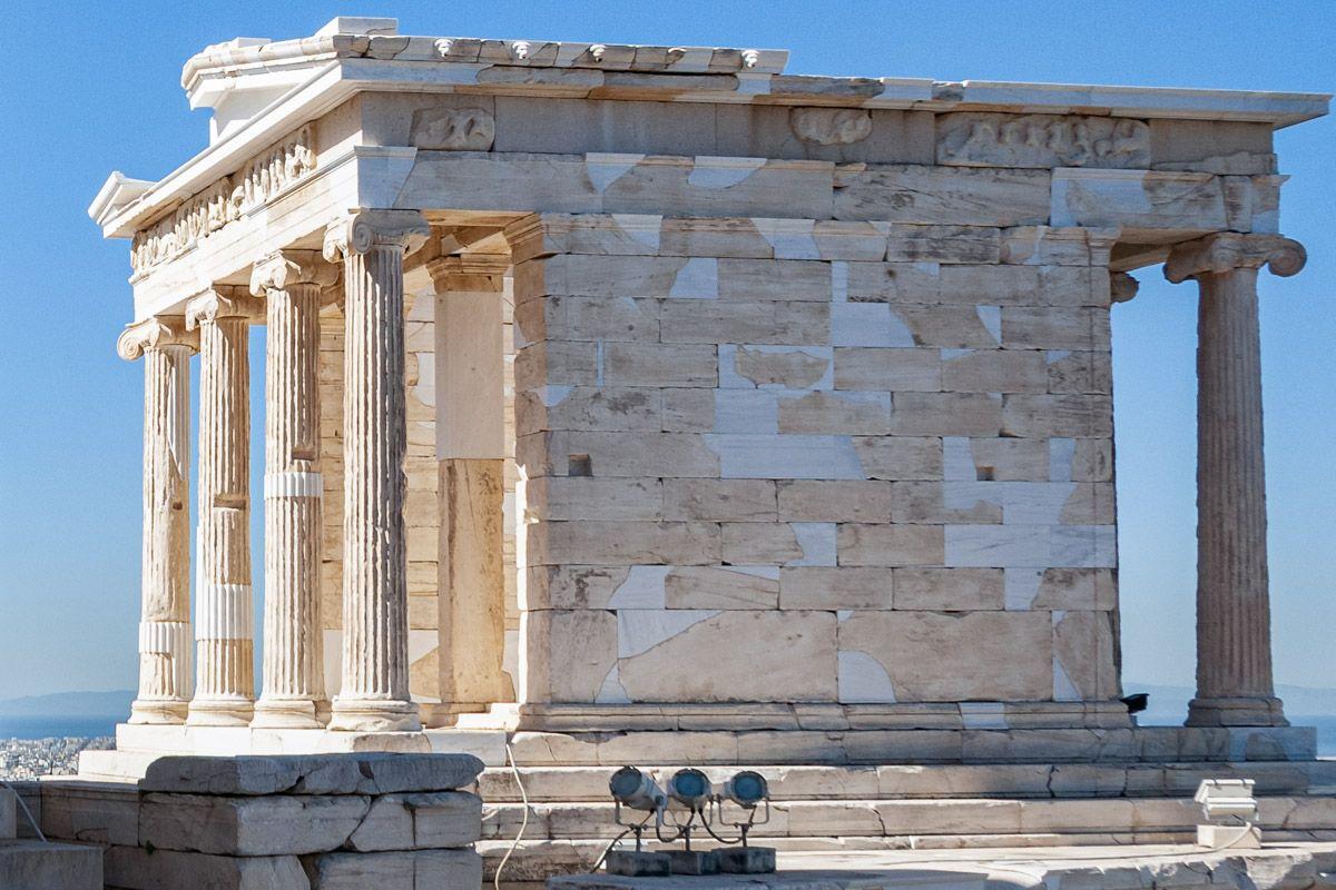 Templo de Atenea Niké, La Acrópolis, Atenas, Grecia   Qué ver y hacer en Atenas en 2 días