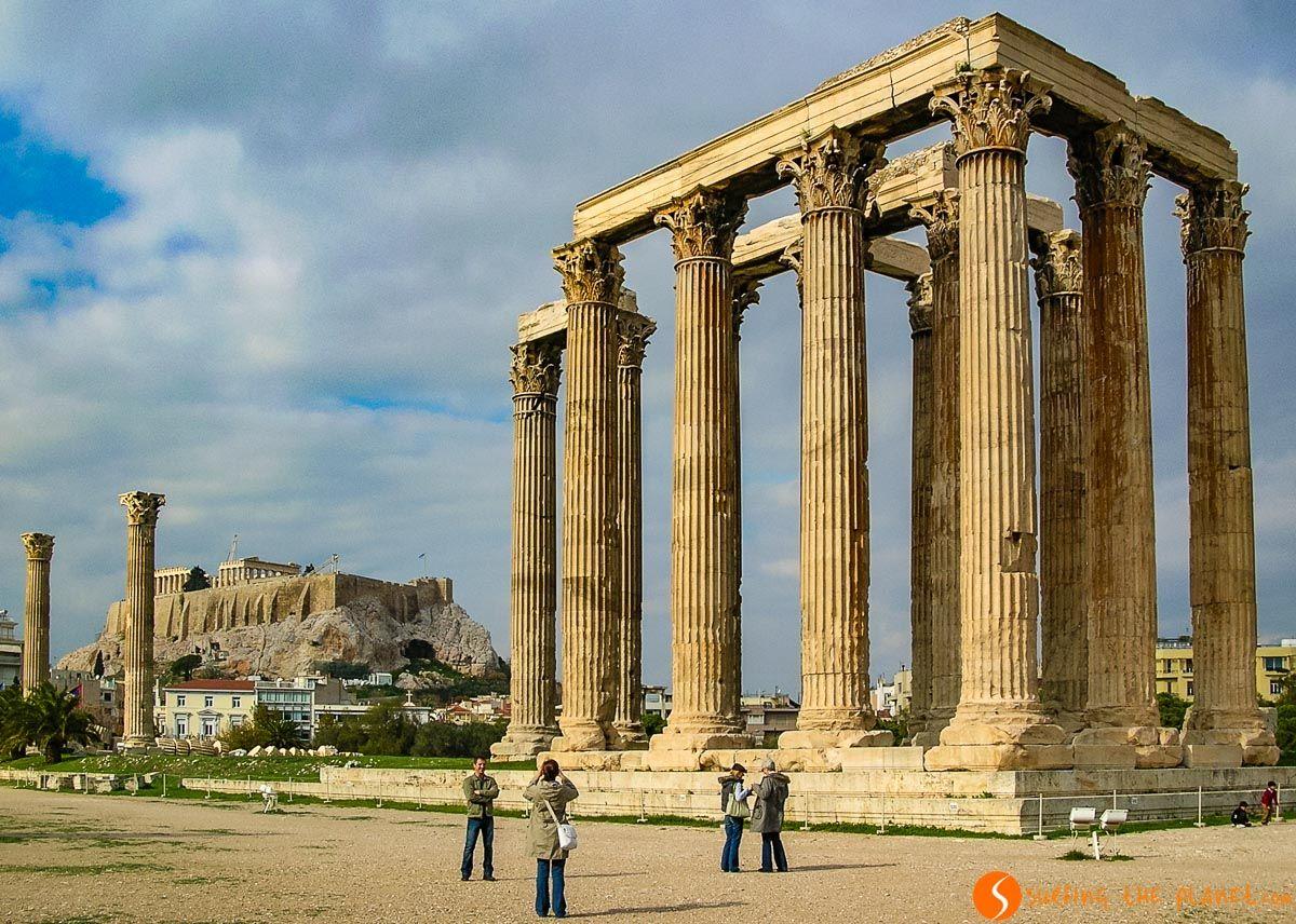 Templo de Zeus, Atenas, Grecia   Qué visitar en Atenas